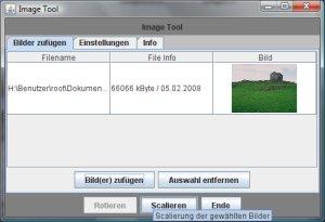 ImageTool Auswählen